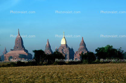 The Mingalazedi Temple, Bagan