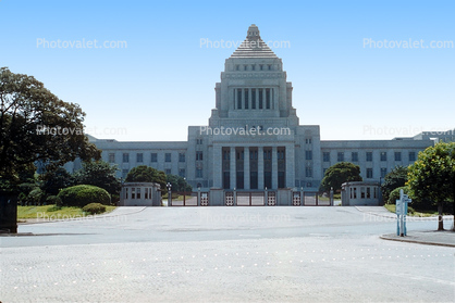 National Diet Building, House of Councillors, sangiin, shuugiin, 1950's