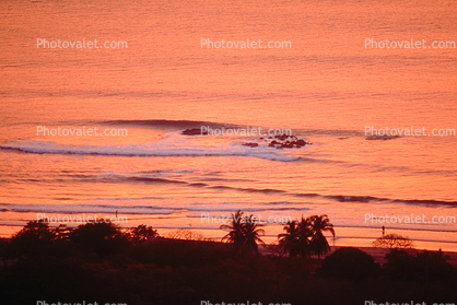 Waves, surf, beach, Playa de Tamarindo