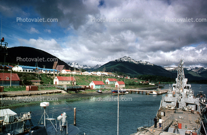 Ship, Dock, Harbor, Puerto Williams