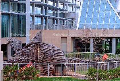 fish playground, Glass Pyramids, building, landmark, Ottawa City Hall, Government Building