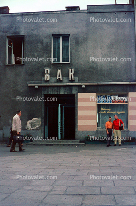 Bar Mleczny Ruczaj, building, Gdansk, Danzig, 1970's Images