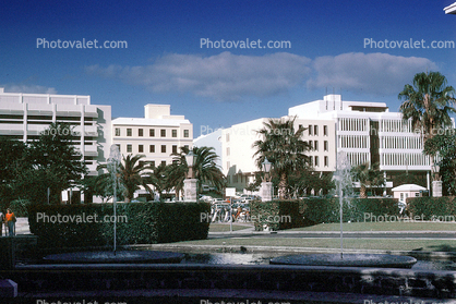 Front Street, Gardens, waterfront, buildings, Water Fountain, Hamilton, Aquatics