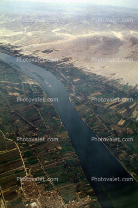 Nile River, Cairo from the Air