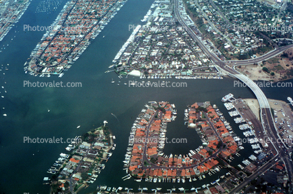Harbor, homes, houses, PCH, Pacific Coast Highway, Marina, Docks, Island