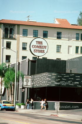 The Comedy Store, Sunset Blvd