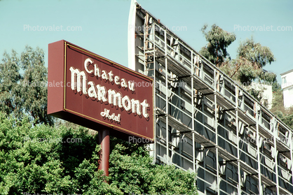 Chateau Marmont Hotel, Sunset Blvd
