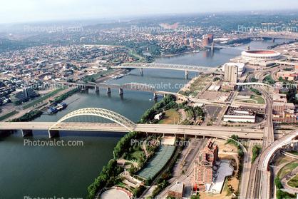 big mac bridge interstate i 471 riverfront stadium cinergy field