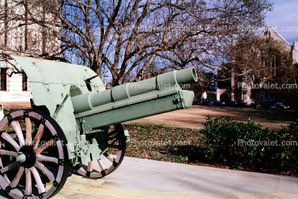 WWI Canon, State Capitol, Jackson