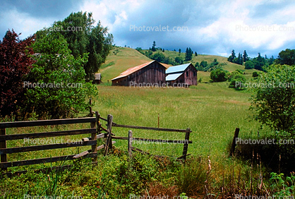 barn, Mendocino County