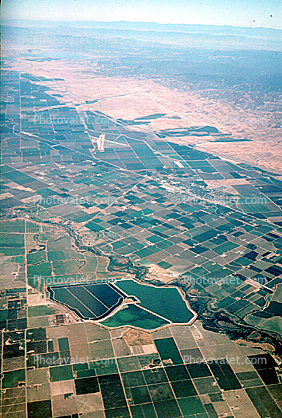 Fields, Central Valley, Crow's Landing Airport