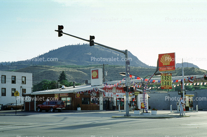 Shell Gas Station, Chelan