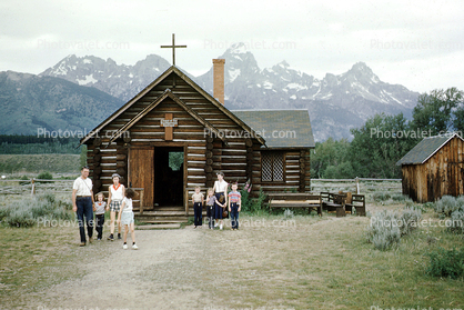 Jackson Chapel, Log Cabin