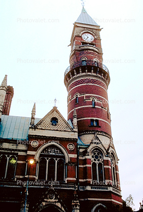 Jefferson Market Library, Clock Tower, Greenwich Village, Manhattan, Sixth Avenue, Downtown