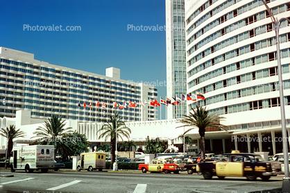 Hotel Cars Vehicle Building Taxi Cabs Coppertone Van Miami