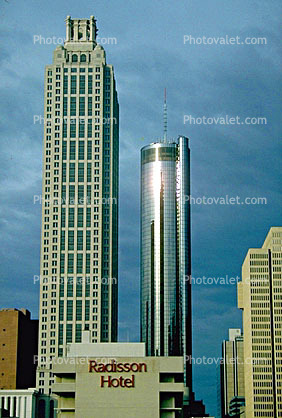 Cityscape, Skyline, Buildings, Skyscraper, Downtown Atlanta