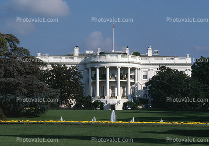 the kilometer that turned into a mile, White House