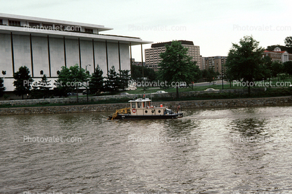 Kennedy Center for the performing arts, Potomac River, dredge, Army Corps of Engineers