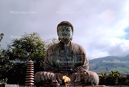 Buddha, Byodo-in Temple, Statue, roadside