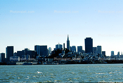 Skyline, Cityscape, buildings, skysrapers, highrise, The Embarcadero