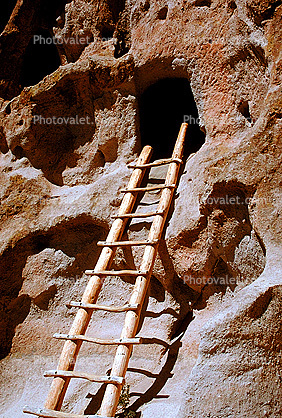 Cliff Dwellings, Ladder, Cliff-hanging Architecture