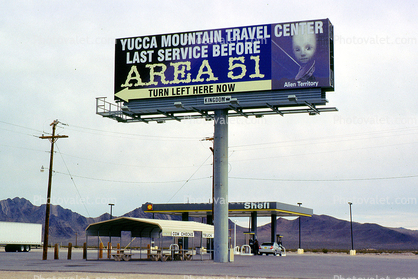 Area-51, Yucca Mountain Travel Center, Amargosa Valley Images
