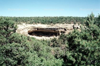 Mesa Verde Cliff Dwellings, Cliff-hanging Architecture