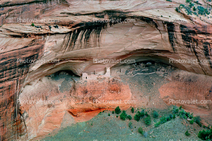Pareidolia, Cliff Dwellings, Canyon de Chelly, National Monument, Cliff-hanging Architecture, ruins