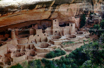 Cliff Dwellings, Cliff-hanging Architecture, ruin