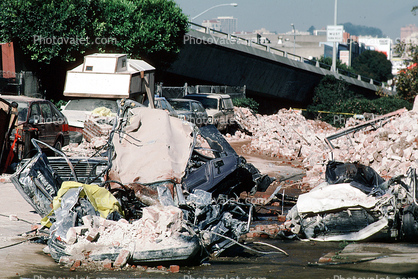 6th Street Ramp, south of Market, SOMA, Loma Prieta Earthquake, (1989)