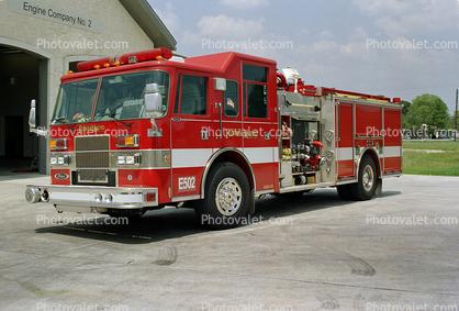 E502, 6300-02, Flower Mound Fire Department, Pierce