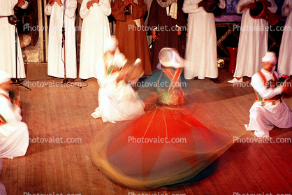Whirling Dervishes, Cairo, Egypt