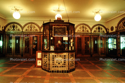 Box Office, Lobby, Art Deco, Artdeco, Art Deco, Building,