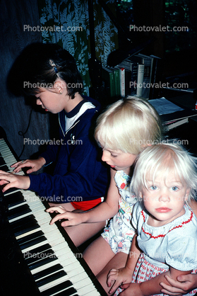 Piano, Keyboard, keys, keyboard, children