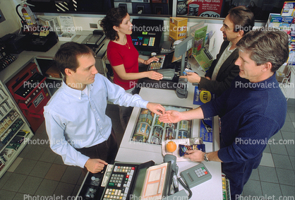 Customer, Shopper, Cash Register, Convenience Store, C-Store