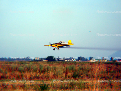 N29254, Ayres S-2R-T34 Turbo Thrush, Agricultural Spraying, Redding, Herbicide, Insecticide, Pesticide, sprayer