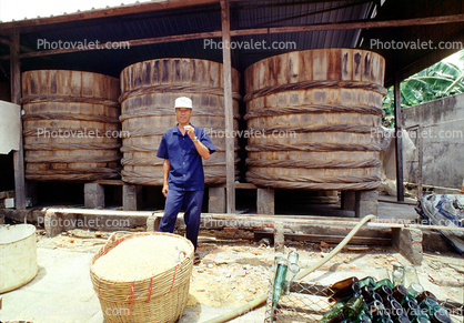 Nuak Mani Factory, Oyster Sauce, Can Tho, Vietnam