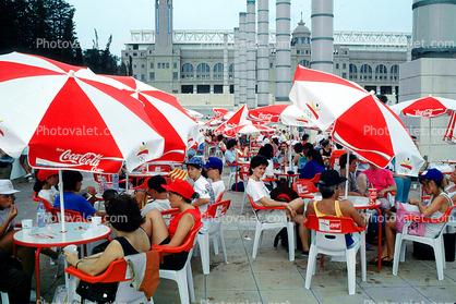 Outdoors, Coca Cola, Coke, Umbrella, Parasol, coca cola, Coca Cola