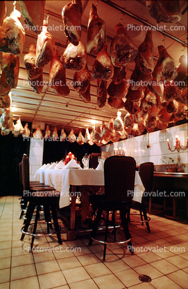 Hanging Meat, Table