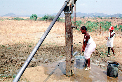 Water Pump, Pumping Water, Well