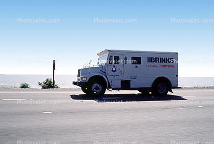 Brinks Armed Vehicle, armored
