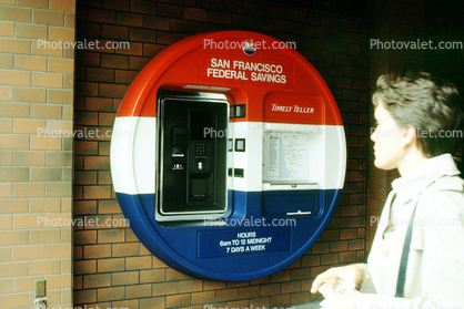 San Francisco Federal Savings, ATM, Automated Teller Machine