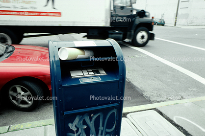 drop-off Postbox, Mailbox, Potrero Hill