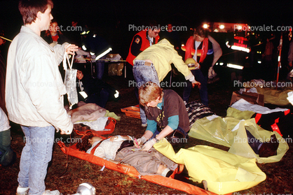 Triage, Plane Crash Victims, New York City, Avianca Flight ...
