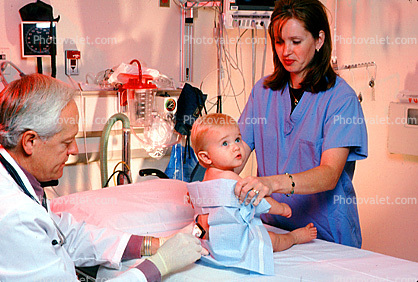 Spinal Tap, Patient, Baby, Infant, Pediatrics, Doctor, Nurse, Pediatrician