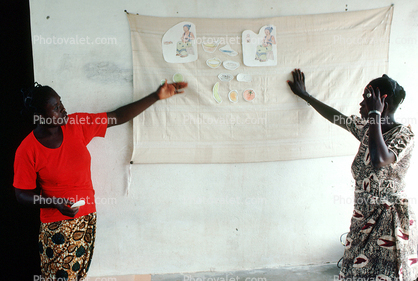 Teaching Mothers Basic Health Care for their Children, Well Baby Clinic, Bobo-Dioulasso