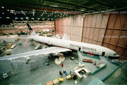Finishing touches and a new Boeing 777