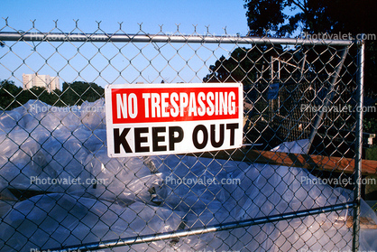 no tresspassing, Student Housing Building Implosion, San Francisco State University