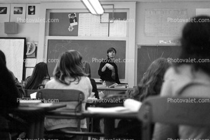 physics class, WJ Layton Teacher, Pacific Palisades High School, Pali Hi, 1970's