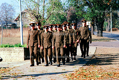some of the last remaining soldiers 1990, Berlin
